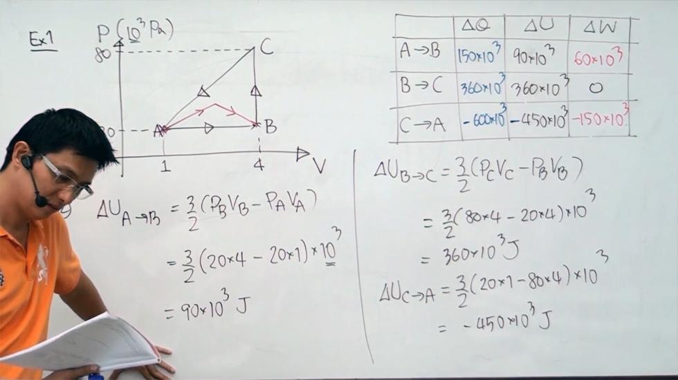 ฟิสิกส์ ม.6 บทที่18 ความร้อนและแก๊สฯ (57) ครั้งที่ 5