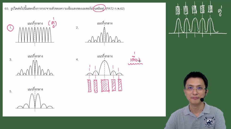 เฉลยข้อสอบฟิสิกส์ PAT2ก.พ.62 ครั้งที่2