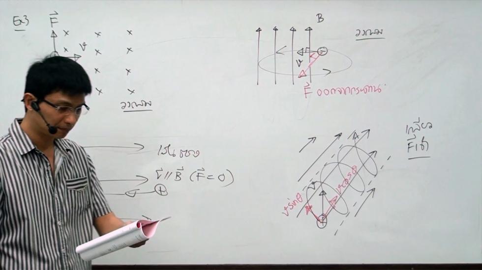 ฟิสิกส์ ม.5 บทที่15 ไฟฟ้าและแม่เหล็ก (ปี56) ครั้งที่ 1
