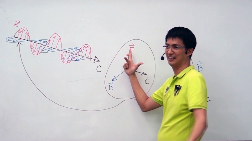 ฟิสิกส์ ม.5 บทที่16 คลื่นแม่เหล็กไฟฟ้า (ปี57) ครั้งที่ 1